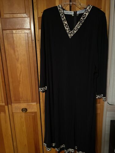 averardo bessi 4x Black Dress