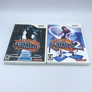 Lot of Dance Dance Revolution Hottest Party 1 & 2 Game (Nintendo Wii) DDR