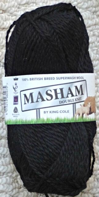 Yarn 50g 1277 Oatmeal King Cole Masham DK Knitting Wool