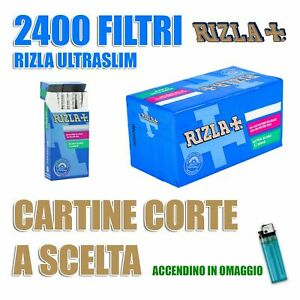 2400-filtri-Rizla-ultra-slim-da-5-7-mm-CARTINE-A-SCELTA
