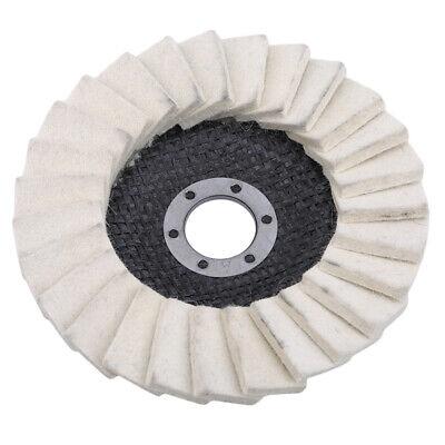 Wool Flap Felt Disc Polisher Angle Grinder Buffing Wheel Polish Metal Tool BL3