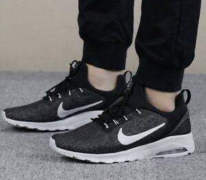 6d53bed2933 New  Nike Air Max Motion Racer Men s Size 9 Black Pure Platinum ...