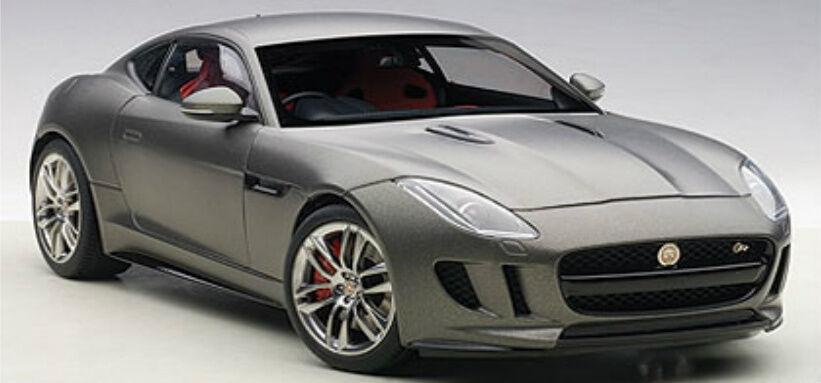 seleziona tra le nuove marche come 1 18 Autoart Jaguar F-Tipo R R R Coupè ( Opaco Grigio) 2015 (Composite modello   Full  il prezzo più basso