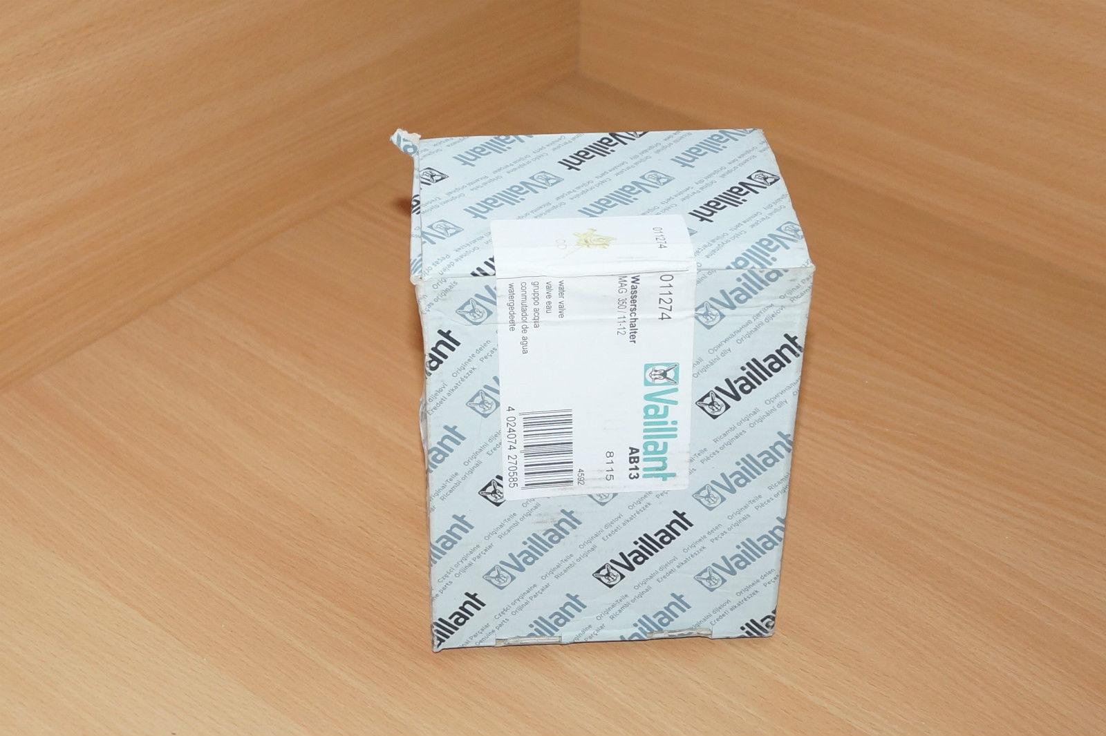 Vaillant Wasserschalter für MAG 350/ 11-12   011274 Wasser-Schalter 01-1274