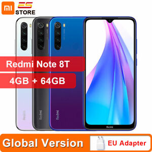 "Xiaomi Redmi Note 8T 4+64GB Smartphone 6,3"" NFC 4000mAh Global Version ES Stock"
