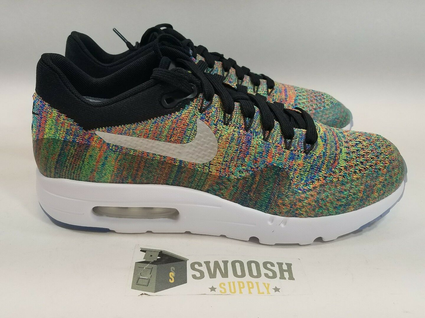 Nike Air Max 1 Ultra Flyknit Premium Multicolor Air Max Day iD sz 13 940379-991