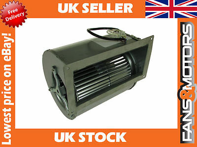 Industrial Extractor Fan, Centrifugal Fan Blower Direct Drive, Double Inlet 178w