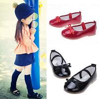 Mädchen Kinderschuhe Ballerinas Hochzeit Halbschuhe Sandalen Sommer Schuhe 21-33