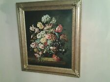 18 or early 19th century oil on canvas floral still life dealeror reseller