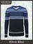 Christmas-Woollen-Jumper-Regular-Sweater-Heavy-Knitwear-Present-Gift-Men-039-s-Blue thumbnail 7