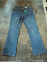 Women's Lands' End Straight Leg Jeans 10/32