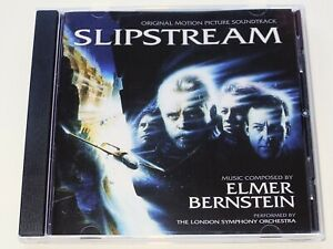 Elmer-Bernstein-SLIPSTREAM-Mark-Hamill-Soundtrack-CD-SLIP-STREAM-Near-Mint