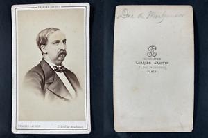 Jacotin, Paris, Antoine Orléans, duc de Montpensier Vintage cdv albumen print.