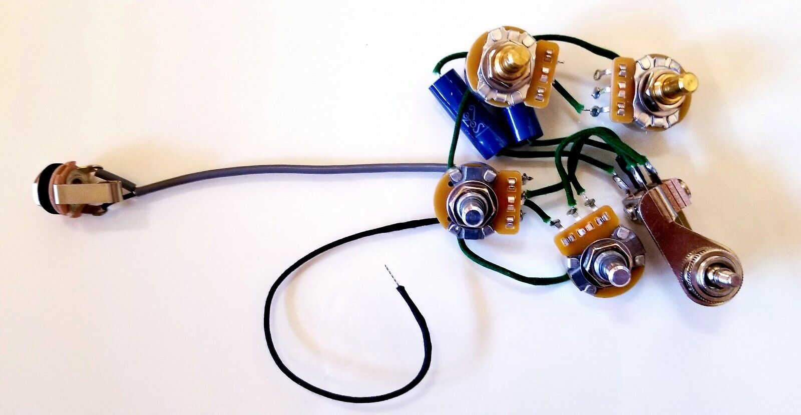 Rickenbacker Wiring Harness Assembly With Double Mono Jack - 00209 for sale  online | eBayeBay