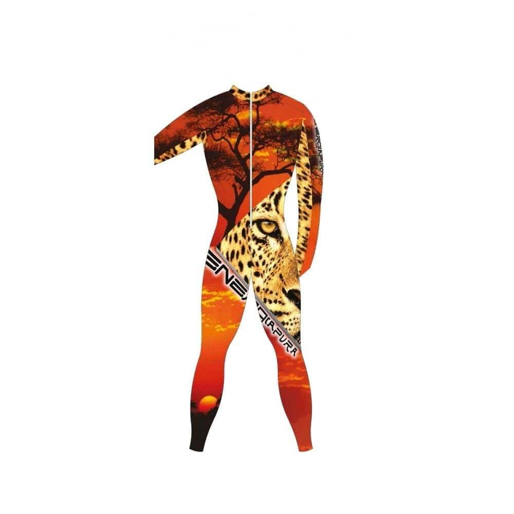 Adult Unpadded Unpadded Adult Race Catsuit Lycra BOLD  Leopard 4c3621