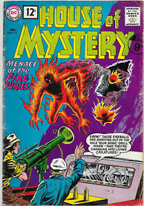 House-Of-Mystery-117-Silver-Age-DC-Comics-VG