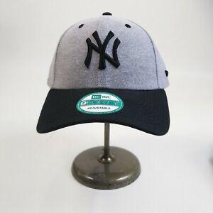 New-Era-9forty-Strapback-cap-100-authentic-MLB-gray-new-York-Yankees