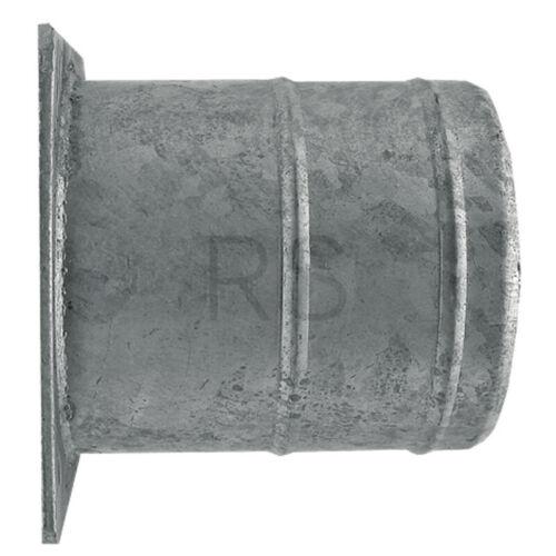 Stahlflansch mit Schlauchtülle feuerverzinkt 8 Zoll Länge 200 mm 4050200716