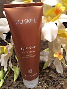 Nu-Skin-nuskin-Sunright-Insta-Glow-Tinted-Self-Tanning-Gel-For-Face-amp-Body-4-2-0z