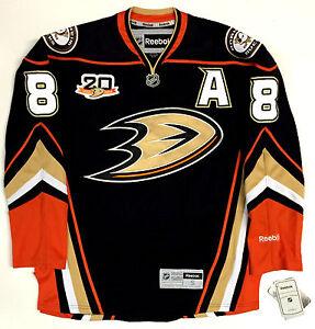 lowest price 57707 823e3 Details about TEEMU SELANNE ANAHEIM DUCKS REEBOK NHL PREMIER FINAL SEASON  JERSEY W/ DUCKS 20TH