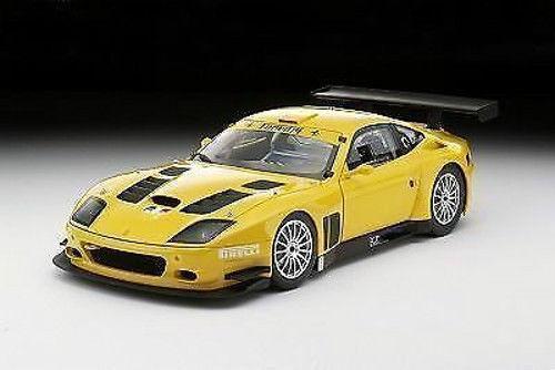 NYA 1  18 Kyosho –Ferrari 575 GTC EVOLUZionE 2005 gul