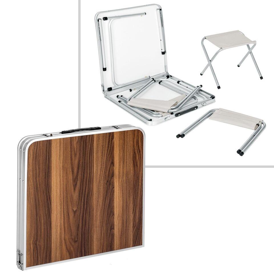 Klapbord med 4 klapstole