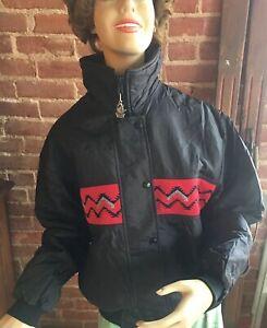 Vintage-Women-s-Ski-Coat-Jacket-Navajo-Aztec-Design-Western-Comfy-Casual-Winter