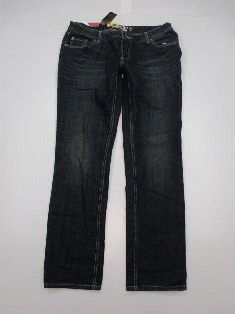 new MOSSIMO Jeans Women's Size 15 Stretch Dark Wash Low Rise Skinny WA7537