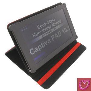 etui-strass-c-ur-pour-Captiva-Pad-10-1-tablette-livre-poche-couverture-rouge