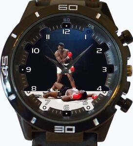 Angemessen Muhammad Ali Boxer Neu Trendy Sport Serie Unisex Geschenk Armbanduhr Armband- & Taschenuhren Armbanduhren