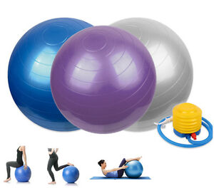 Gymnastikball Sitzball Fitness Yoga Pilates Sportball Ball Gymnastik Bürostuhl