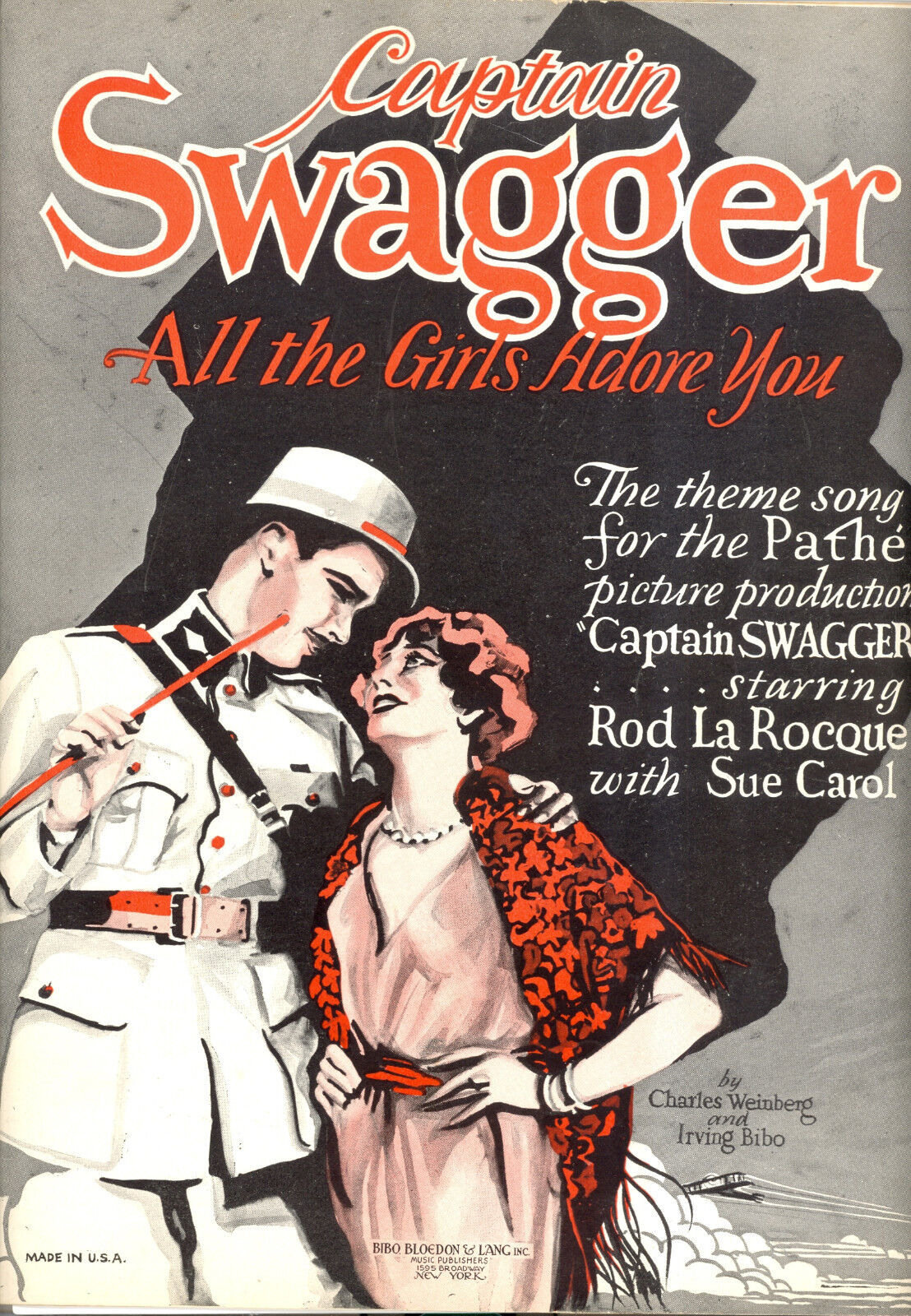 Captain Swagger Sheet Music