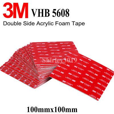 VHB 5608 Double Sided Adhesive Acrylic Foam  Mounting Tape Gray 10cmx10cmx0.8mm