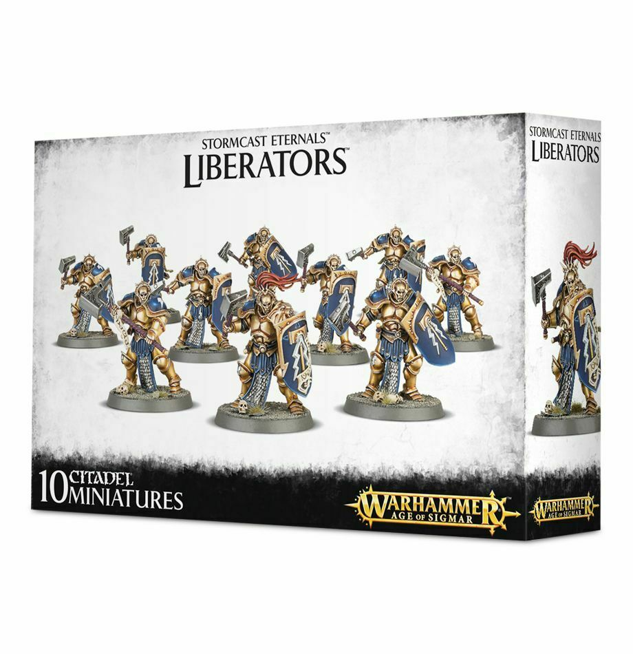 Stormcast Eternals Liberators Warhammer Age of Sigmar 20% off UK rrp