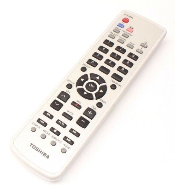 Toshiba G83C00041210 Remote Control for DVD Player