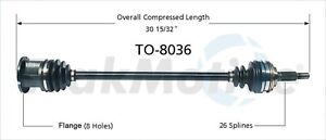 CV Axle Shaft Front Right SurTrack KA-8097 fits 12-17 Kia Rio