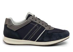 Scarpe-da-uomo-Geox-Avery-U02H5C-casual-sportive-basse-sneakers-estive