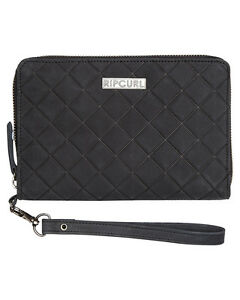 Rip Curl Women's Levee Rfid Os Leather Wallet Black