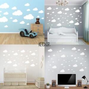 Image Is Loading New Clouds Vinyl Wall Sticker Decal Removable Art