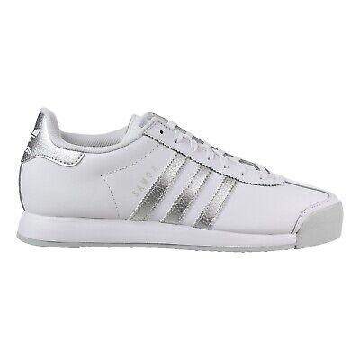 Men's adidas Originals Samoa Shoes White Silver Metallic Grey AQ7906 | eBay