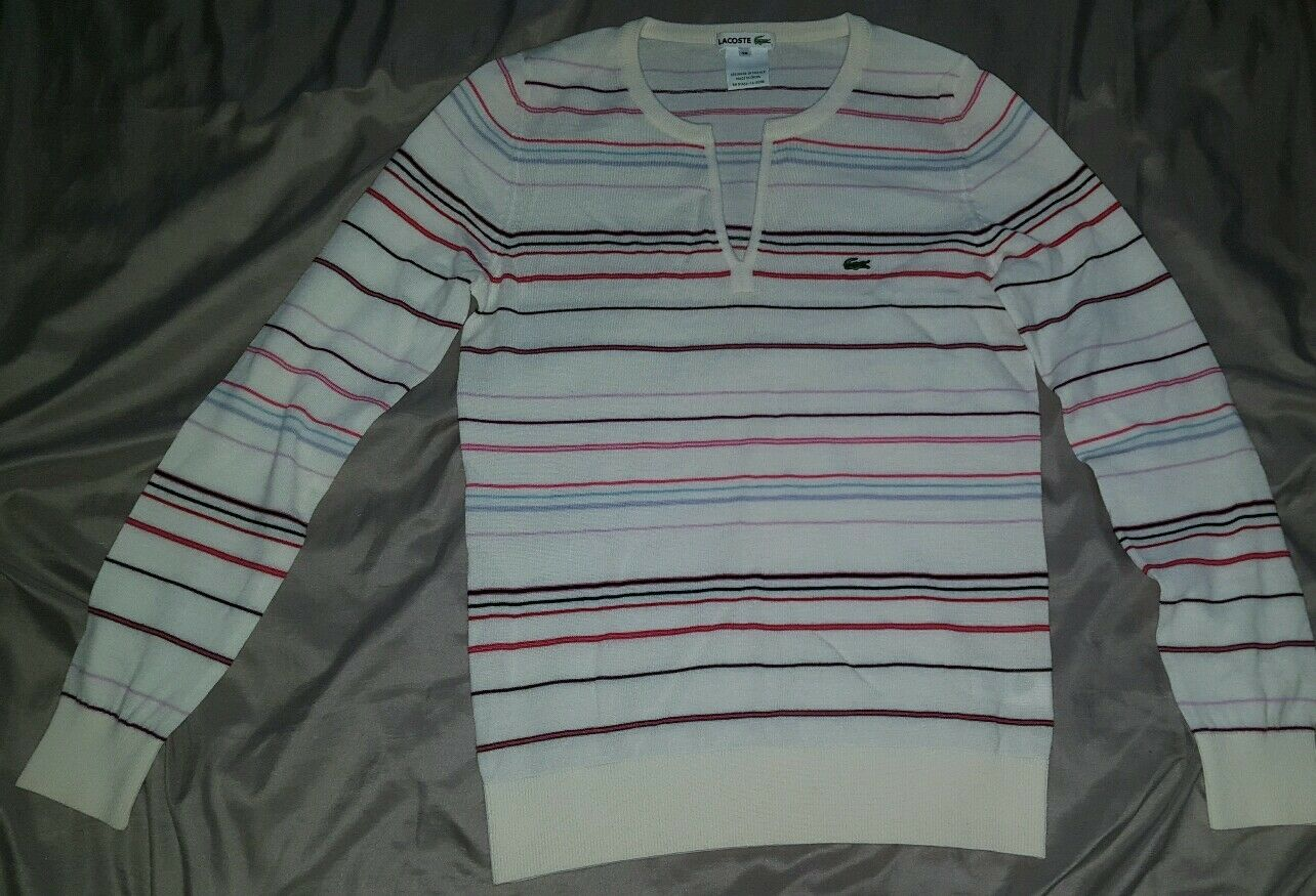 Lacoste womens sweater size 38