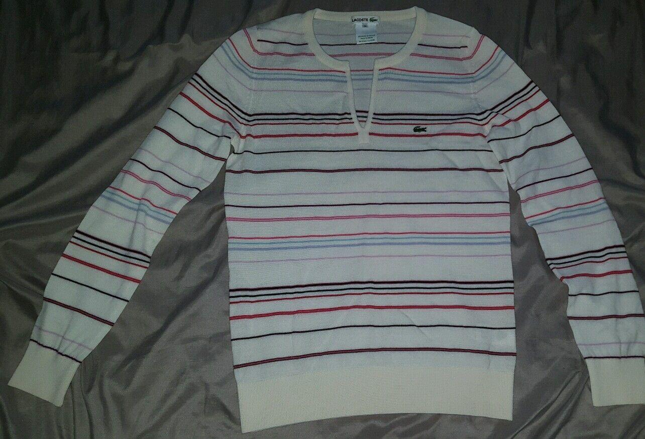 Lacoste womens sweater size 38