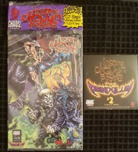 Insane Clown Posse - The Pendulum 2 of 12 CD & Comic Book twiztid dark lotus icp