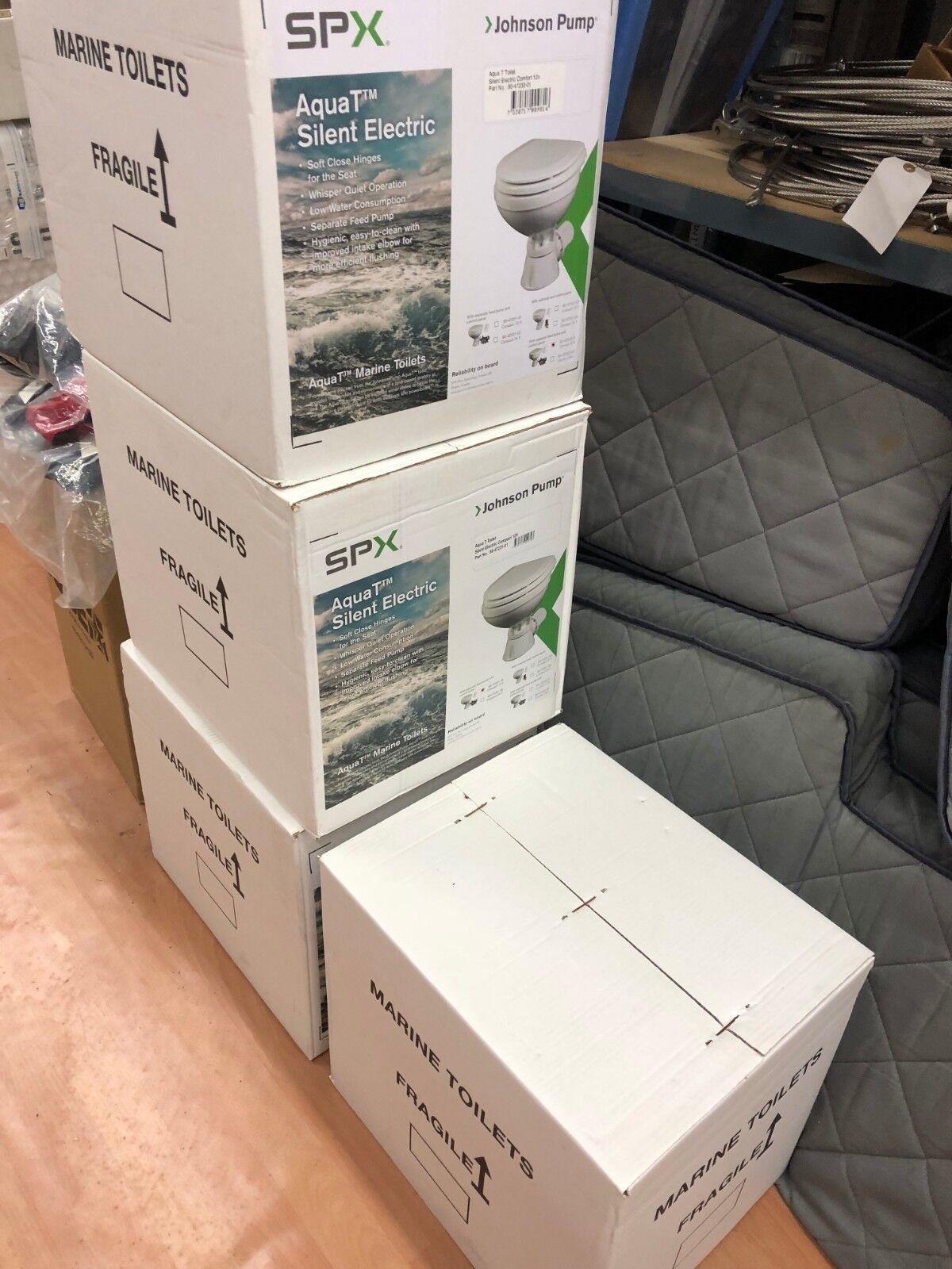 Johnson / Aqua T Silent Electric Comfort / 12V  / Toilette / Stiefel / Bordtoilette