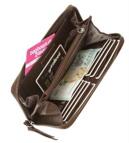 Geldbörse CURUBA Ledergeldbörse Damenbörse FASHION Leder Wallet 13008 AUSWAHL