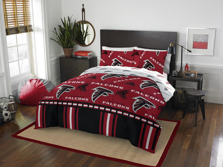 Bedding Set Full Größe Atlanta Falcons Design Sheet And Pillowcase Multiple