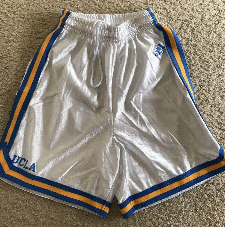 Pantalones cortos de baloncesto Adidas UCLA NWOT para hombre, tamaño pequeño