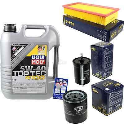 Umorismo Filtro Inspektionskit Liqui Moly Olio 5l 5w-40 Per Peugeot 806 221 2.0 405 Ii 4b- Top Angurie