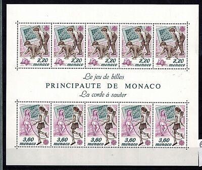 PräZise Briefmarken Cept 1989 Gemeinschaftsausgaben Monaco Block 44 Postfrisch Fest In Der Struktur Cept/europa Union & Mitläufer