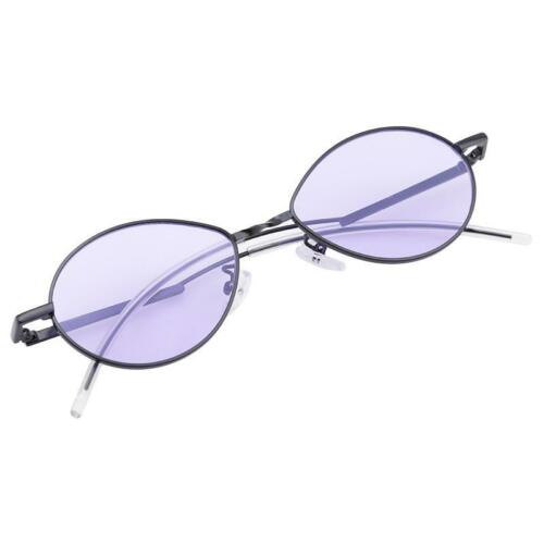 Women Men Vintage Small Oval Metal Frame Sunglasses Shades Trendy Glasses New H